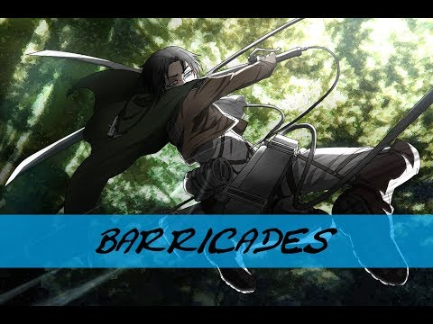 ♫ BARRICADES | AMV ACTION | (3D MANEUVER GEAR COMPILATION ) - ATTACK ON TITAN ♫