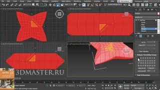Урок 3ds Max: Создание подушки с выпуклым швом