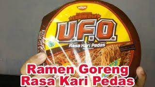 Review Mie Goreng Ufo Rasa Kari Pedas