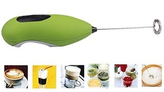 Unbox Review - Portable Hand Electronic Blender Frother - Best for Coffee Lassi Frothing Cream