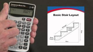 How to Calculate Basic Stair Layouts | Construction Master Pro