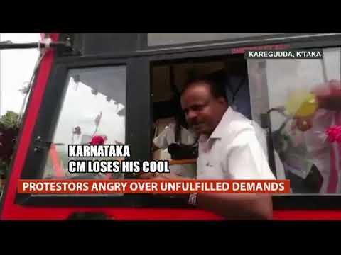Karnataka CM HD Kumaraswamy Loses Cool As Power Station Workers
