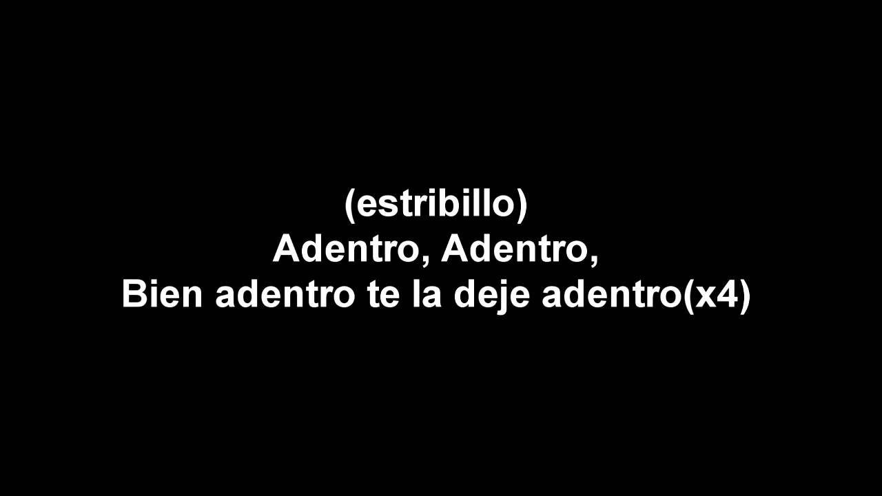 Download Calle 13 Adentro Letra