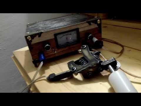 handmade retro tattoo power supply