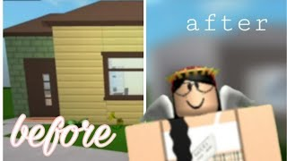 I RENOVATED STARTER HOUSE IN BLOXBURG! | Roblox | Mobile Speed-build | Welcome to Bloxburg