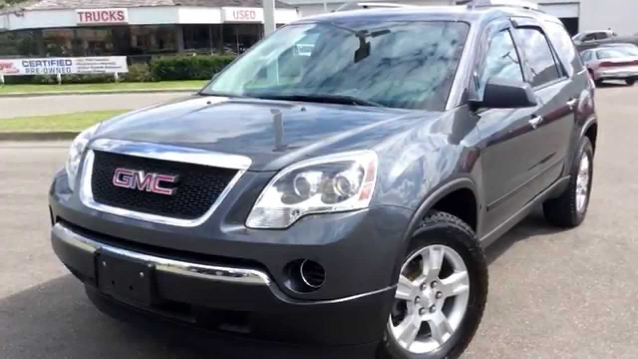 used 2011 gmc acadia sle tour at boyer pickering for sale review youtube. Black Bedroom Furniture Sets. Home Design Ideas