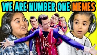 Video WE ARE NUMBER ONE BUT KIDS REACT TO IT download MP3, 3GP, MP4, WEBM, AVI, FLV Desember 2017