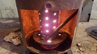Waste oil burner-100% Free Heat!!
