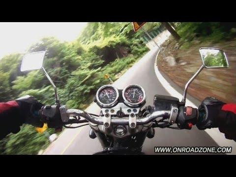 honda CB400SF onboard winding corner movie . (honda NC39) DriftHD fullHD 1080p