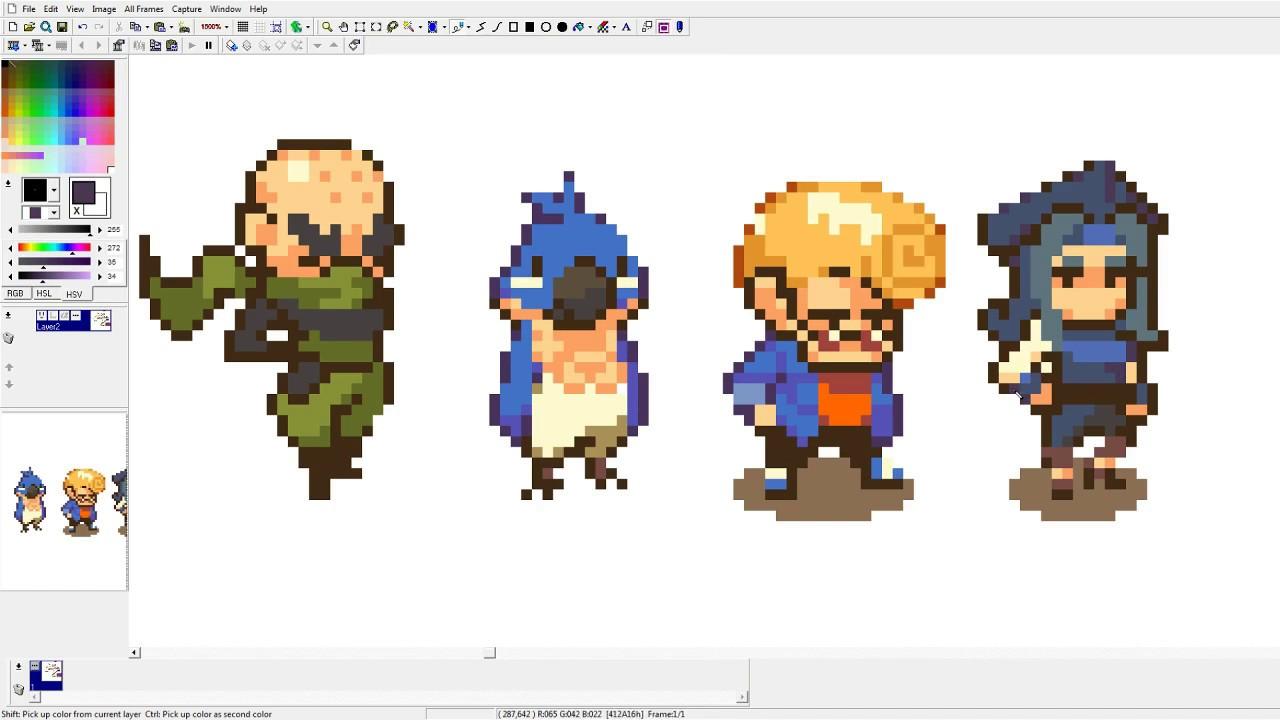 pixel art pirate thief youtube