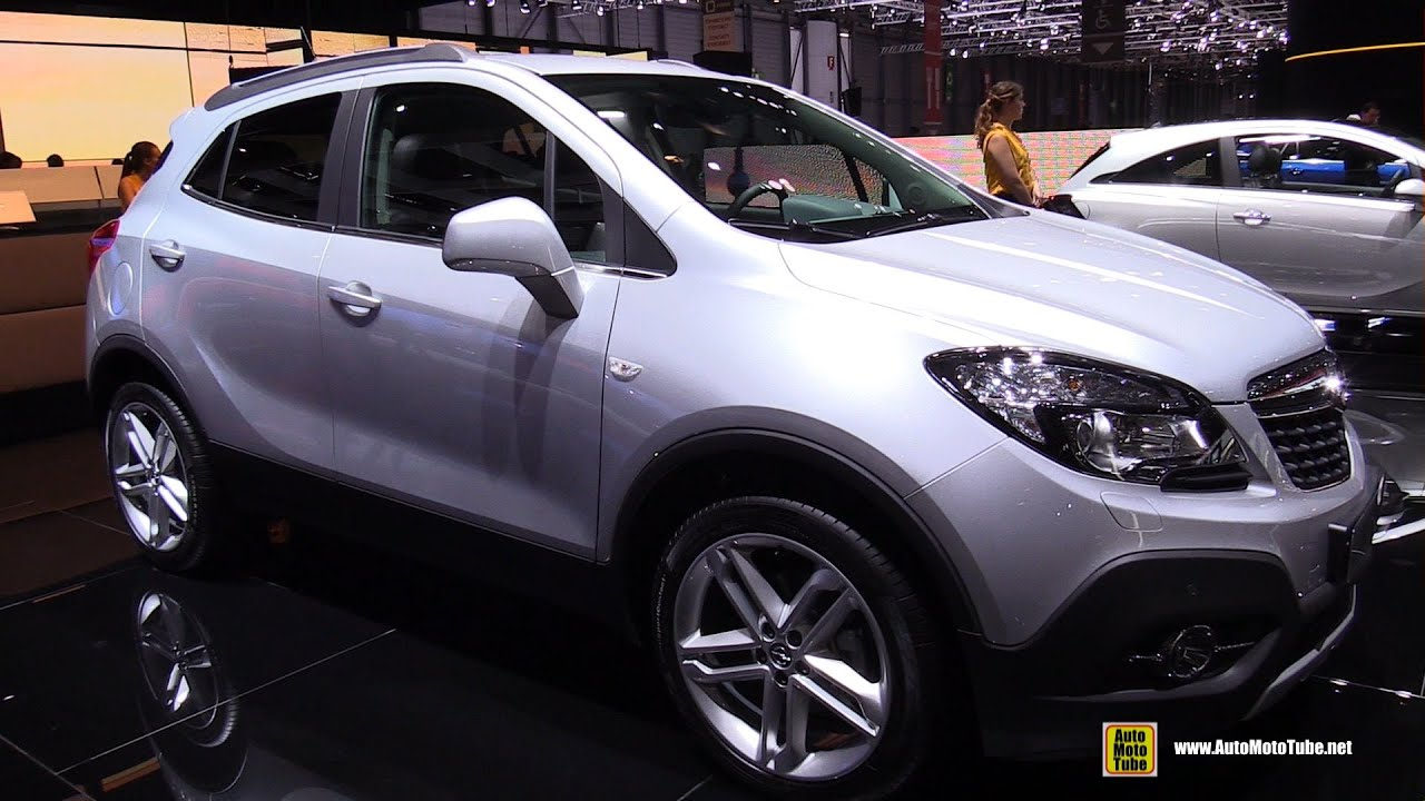 2015 opel mokka cosmo 1 6 cdti 4x4 exterior and interior walkaround 2015 geneva motor show. Black Bedroom Furniture Sets. Home Design Ideas