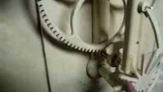 Wooden Gear Clock Construction 1