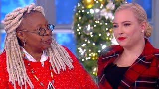 The View: Meghan McCain Fires Back at Whoopi Goldberg's 'Stop Talking' Demand
