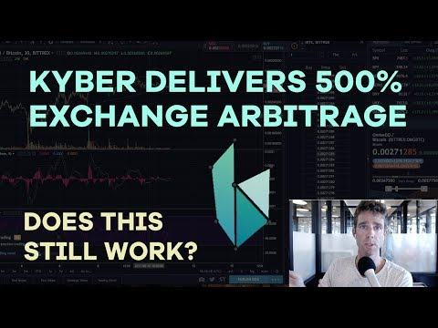 Kyber Delivers 500% Exchange Arbitrage, NEO Scalp Trades, Li