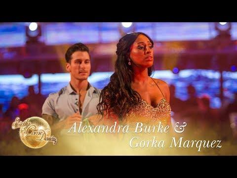 Alexandra Burke and Gorka Marquez Waltz to 'You Make Me Feel' by Aretha Franklin