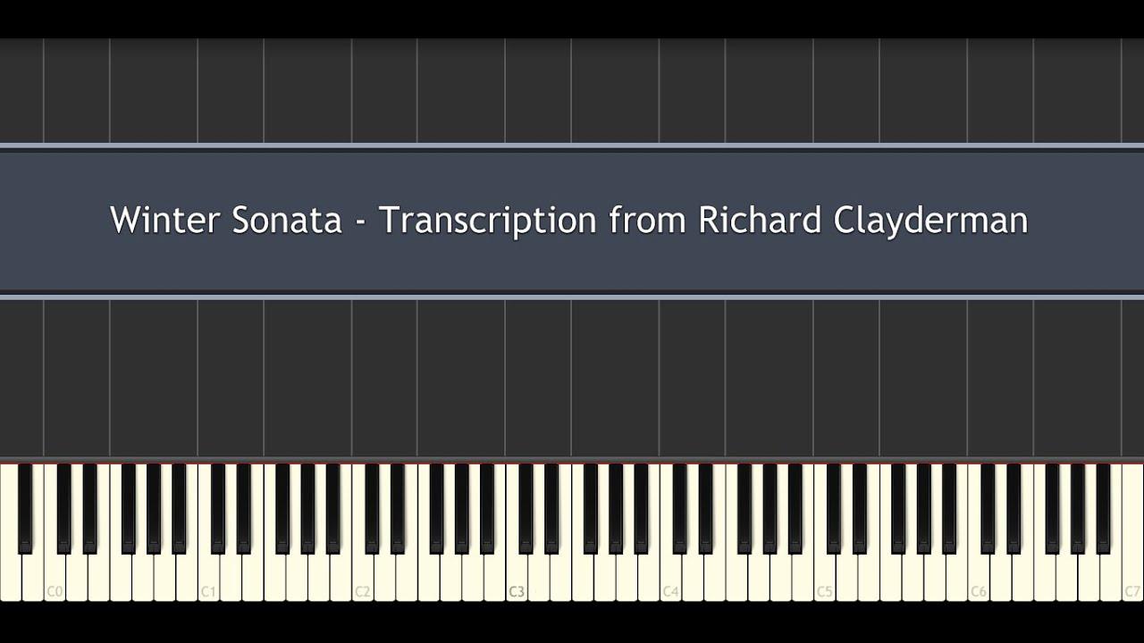 Winter Sonata - Transcription from Richard Clayderman