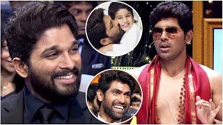 Allu Sirish Making Hilarious Fun On Allu Arjun's Kids Ayaan And Arha