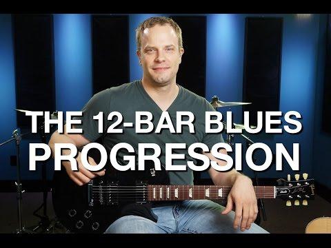 The 12 Bar Blues Progression  Blues Guitar Lesson #2