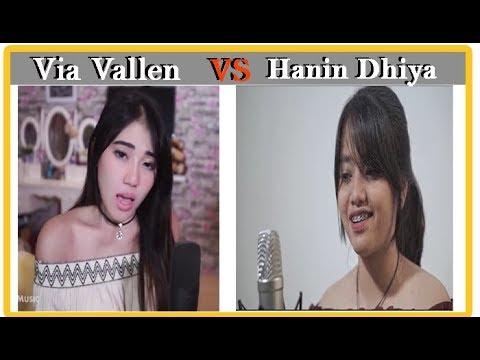 AKAD Payung teduh - Hanin Dhiya VS Via Vallen