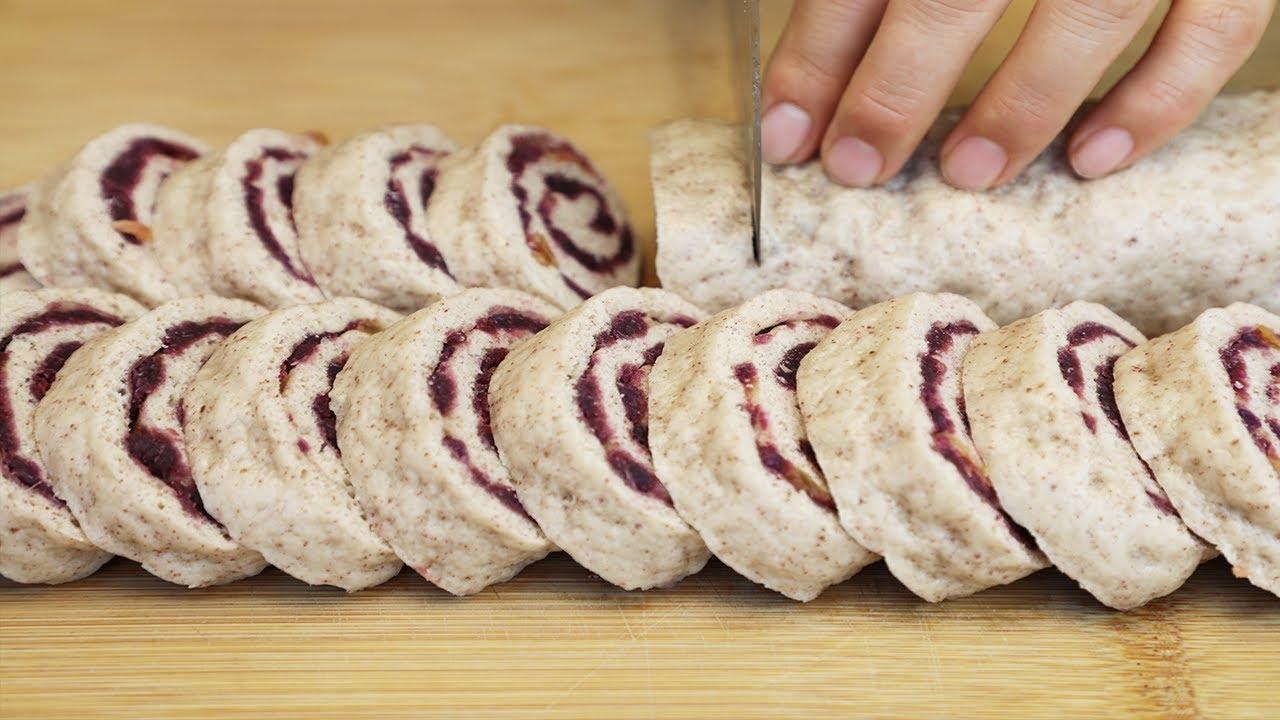 教你做红豆卷馒头,一擀一卷,松软香甜,营养美味,比面包还好吃【丽娟美食记】