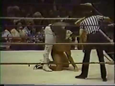 Ric Flair vs. Koko Ware (NWA World Heavyweight Championship)