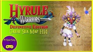 Hyrule Warriors (Switch): Great Sea Map H14 - Skull Kid