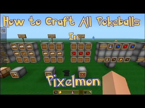 Pixelmon Master Ball Recipe Pixelmon Pokeball Craf...