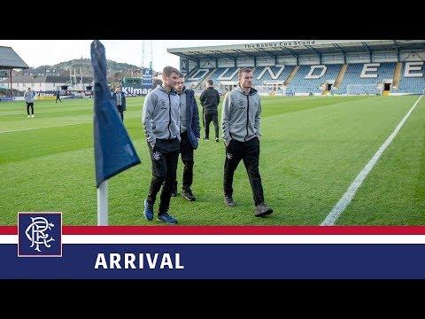 ARRIVALS   Dundee v Rangers   09 Dec 2018