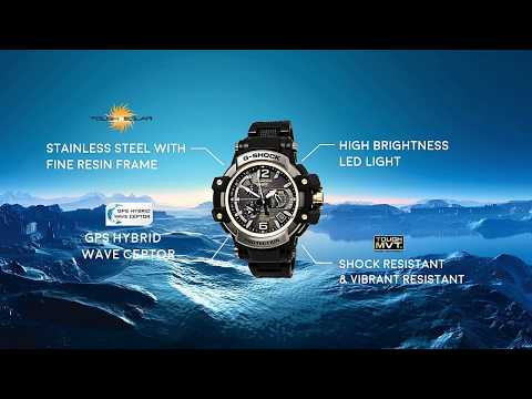 G-Shock : GPW1000 Montage (GDG584 Student Project)