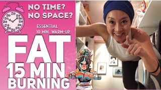 EASY FAT BURNING HOME WORKOUT (NO EQUIPMENT FULL BODY)
