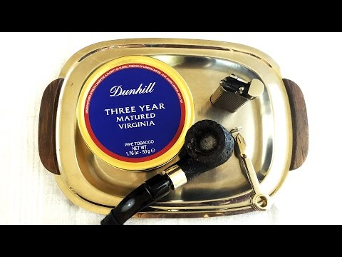 """Pipe Tobacco Review: Dunhill """"Three Year Matured Virginia"""""""