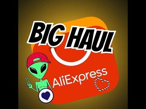 BIG HAUL Aliexpress Janvier 2017