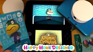 How To Use Amiibo Cards (and Transfer) in Animal Crossing Happy Home Designer