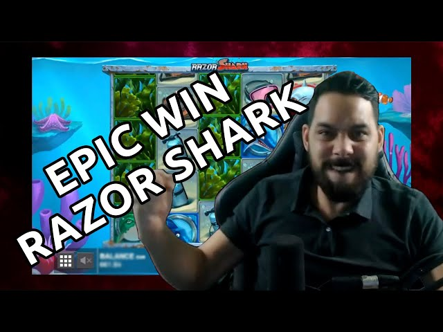 RAZOR SHARK EPIC WIN plus a new intro