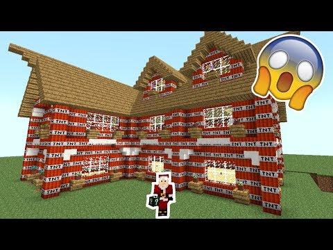 Dansk Minecraft - Lucky Blocks #42: VILDESTE TNT HUS!!