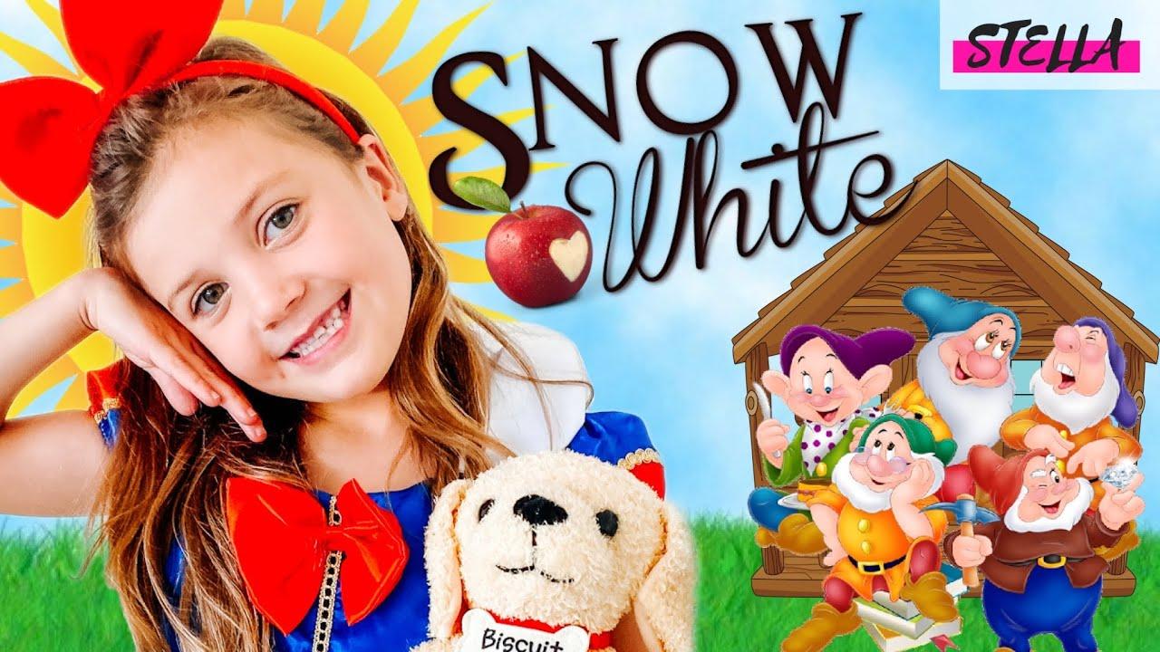 Stella is SNOW WHITE!!!