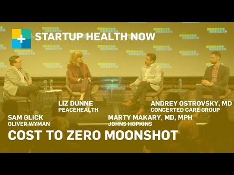 Redesigning the Healthcare Model: Cost To Zero Moonshot Panel NOW #171