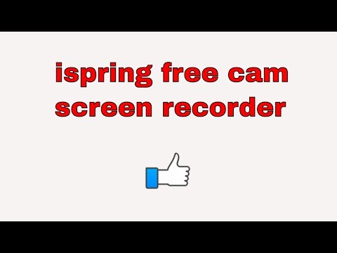 ispring free cam (my thoughts and review) - YouTube