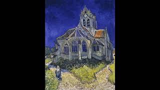 Vincent van Gogh, The Church at Auvers - Soundscape Painting