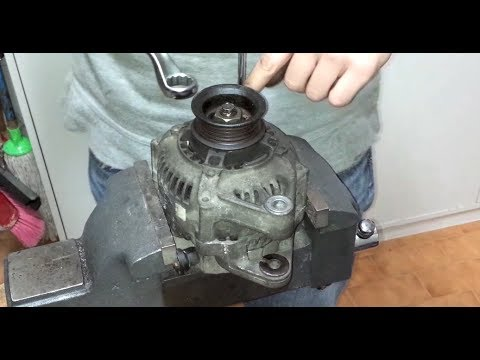 1993 Toyota Corolla Alternator Wiring Diagram Mitsubishi ᴴᴰhow To Fully Rebuild A Denso With New Bearings