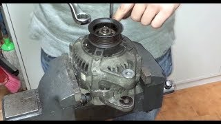ᴴᴰHow to fully rebuild a Toyota ( Denso ) Alternator with new bearings