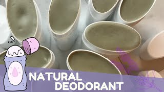 Making Activated Charcoal Natural Deodorant | GYPSYFAE CREATIONS