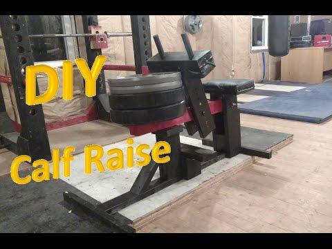 How To Build A LEGIT Homemade Seated Calf Raise