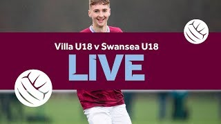 Re-run | Villa U18 v Swansea U18