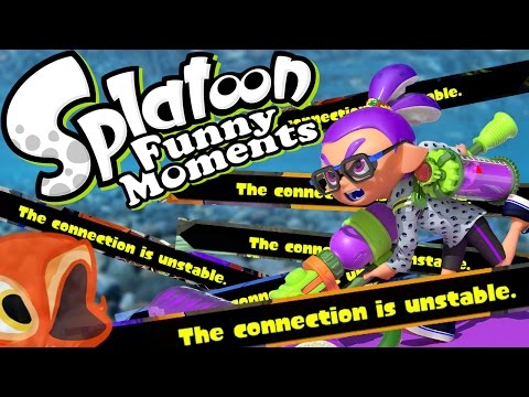 """The Connection is Unstable"" (Splatoon Hide and Seek Funny Moments and Highlights)"
