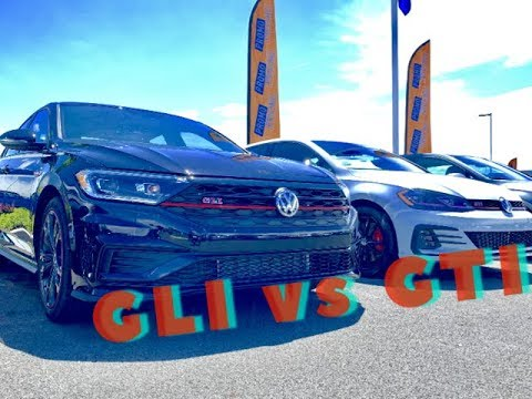 2019 GTI Rabbit Vs 2019 GLI 35th Anniversary