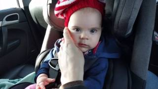 6 month old baby reviews Diono radian rXT chair in Porsche Cayenne