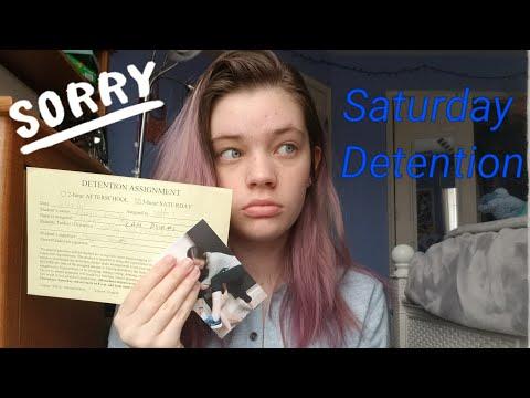 How I got Saturday Detention