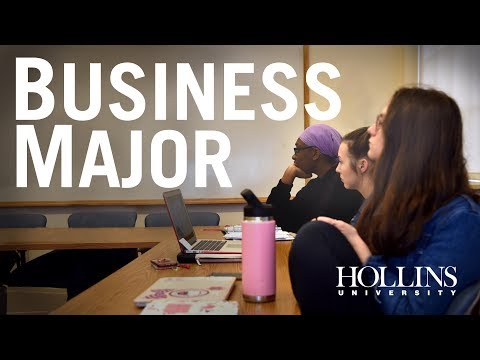 A Business Major at Hollins University