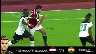 Mahmoud Hassan Trezeguet VS Ghana RTWC18 Full Highlights Assist , Skills , Passes , Defence HD